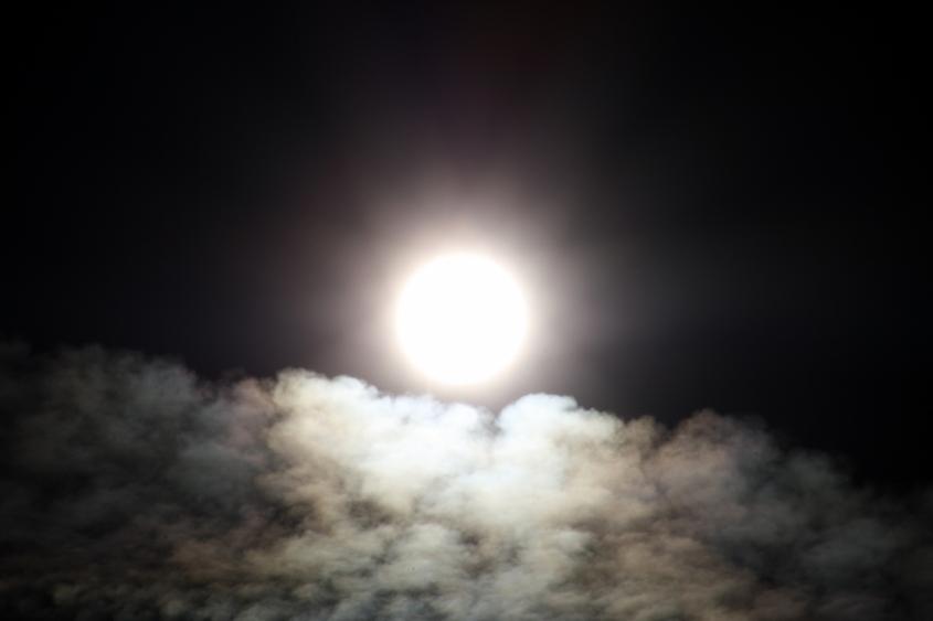 sunrise over cloud ocean