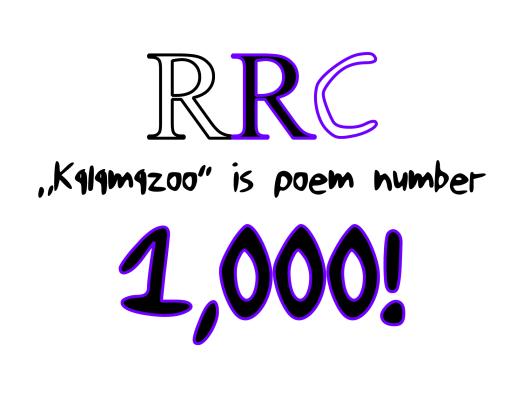 kalamazoo poem number 1000