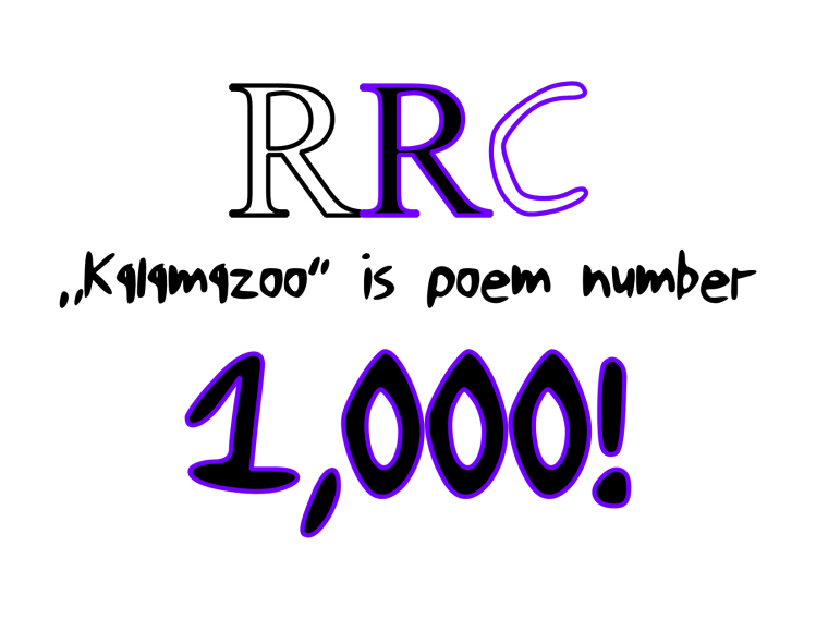 kalamazoo poem number 1000