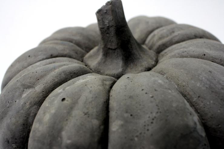 concrete pumpkin 2
