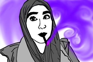 Nadine Nabass in digital rendering.